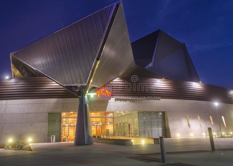 Tempe Arts Center, Arizona photos stock