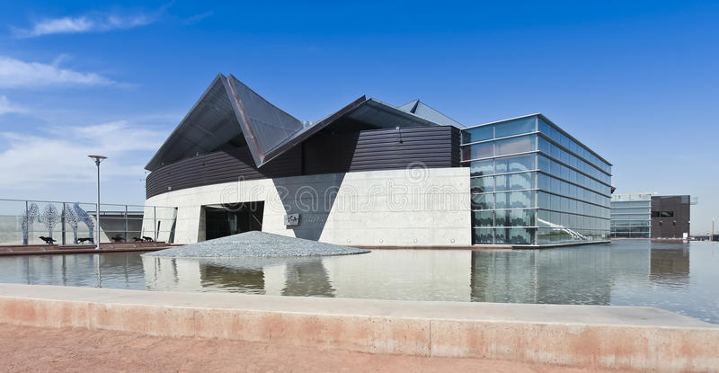 A Tempe Center for the Arts Shot royalty free stock image
