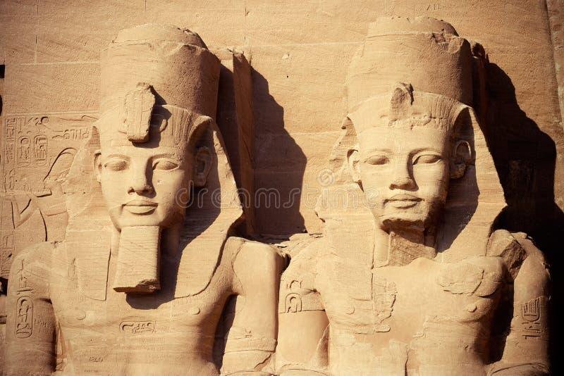 Tempel in Ägypten stockfoto
