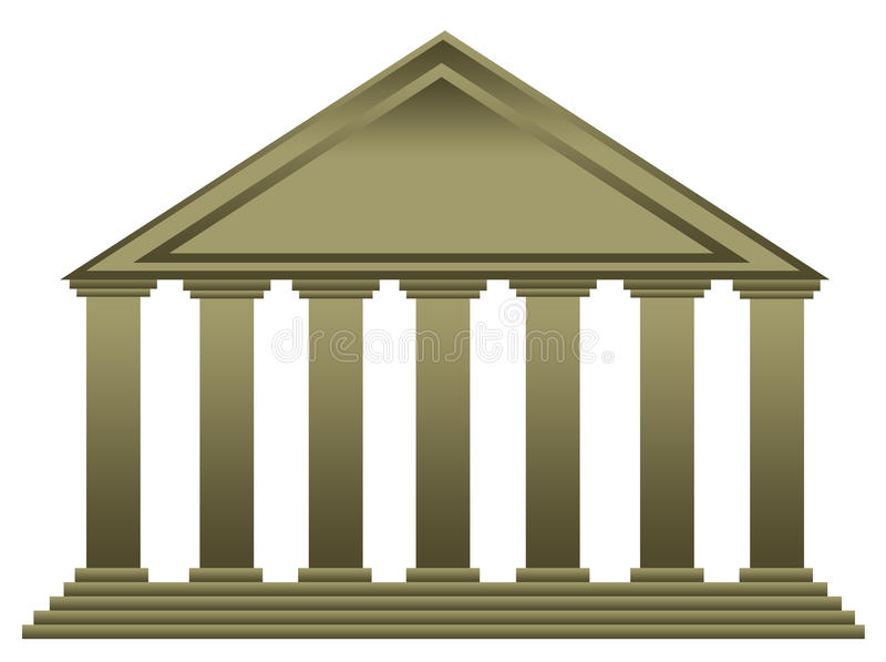 Tempel stock abbildung