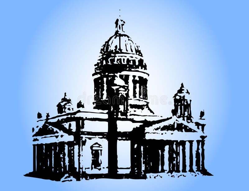 Tempel vektor abbildung