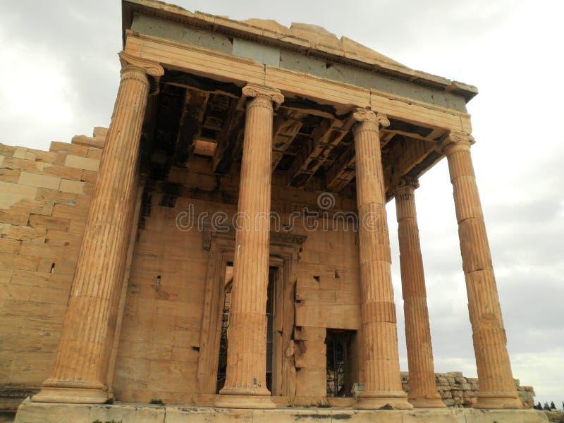 Tempel Athen Griechenland stockbild