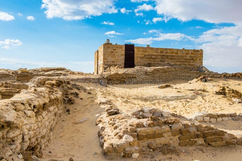 Tempel av Alexander det stort, Egypten royaltyfri foto