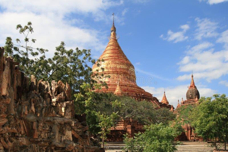 Tempel av Bagan, Burma arkivbilder