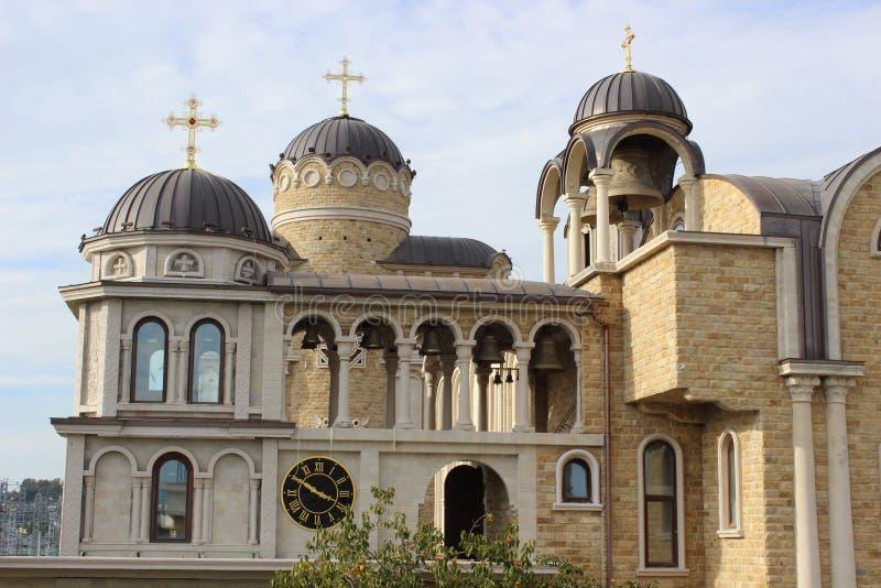 Tempel av den heliga framsidan av Kristus frälsaren royaltyfria bilder