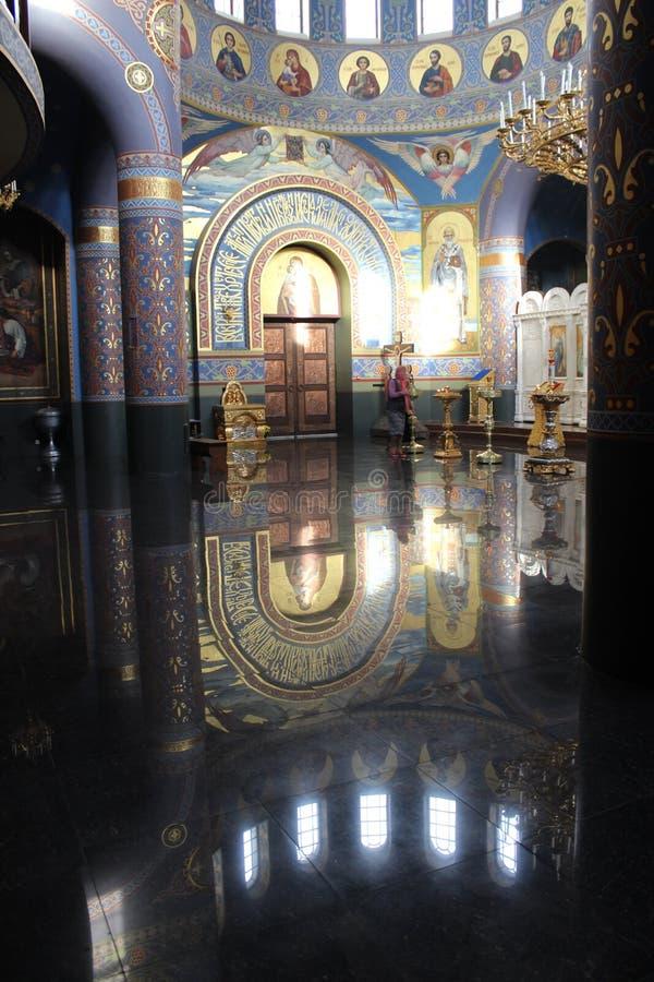 Tempel av den heliga framsidan av Kristus frälsaren royaltyfri foto
