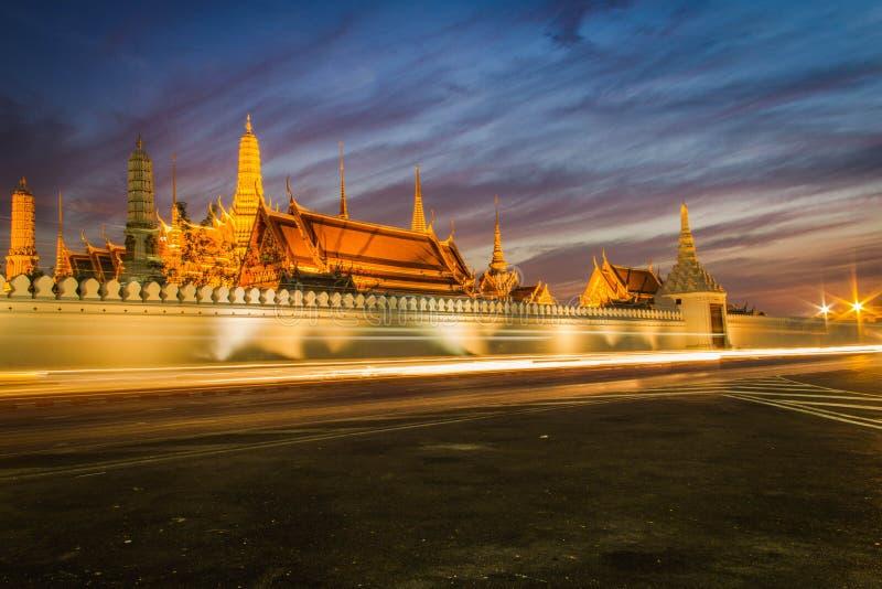 Tempel av Emerald Buddha arkivfoton
