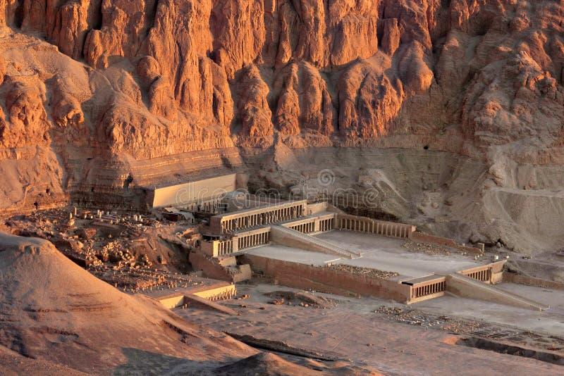 Tempel av Hatshepsut fotografering för bildbyråer