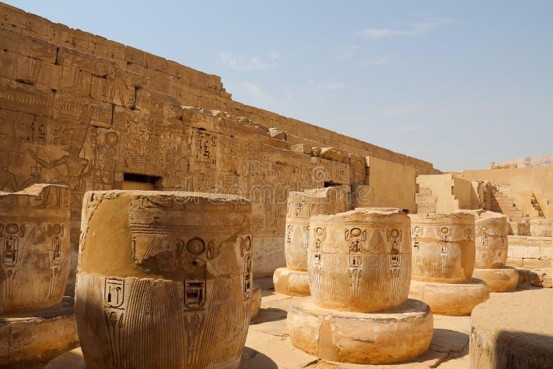 Tempel av Horus royaltyfri foto
