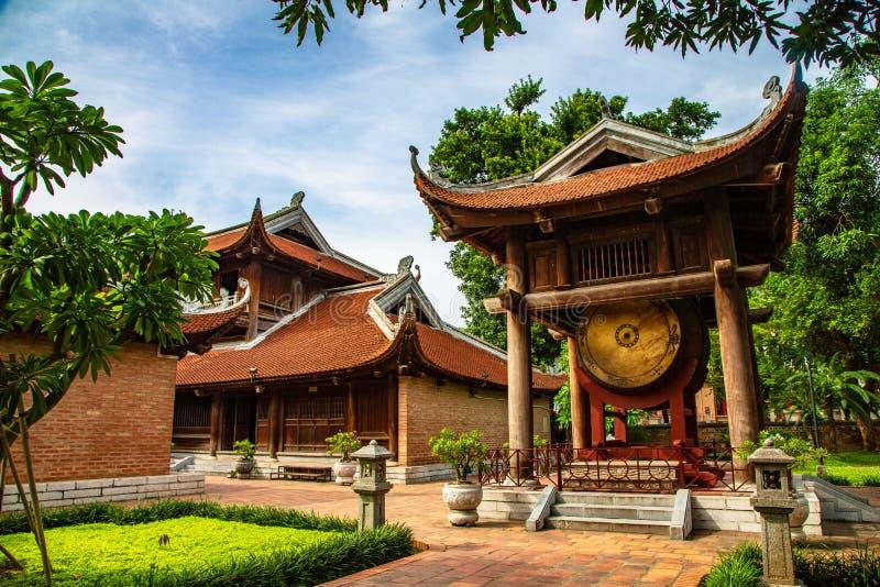 Tempel av litteratur royaltyfria foton