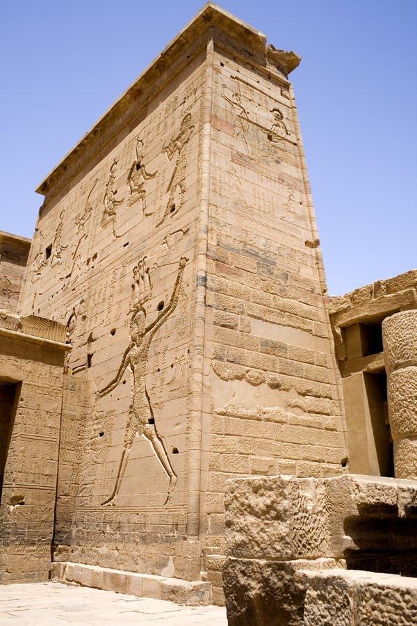Tempel av Philae arkivfoto