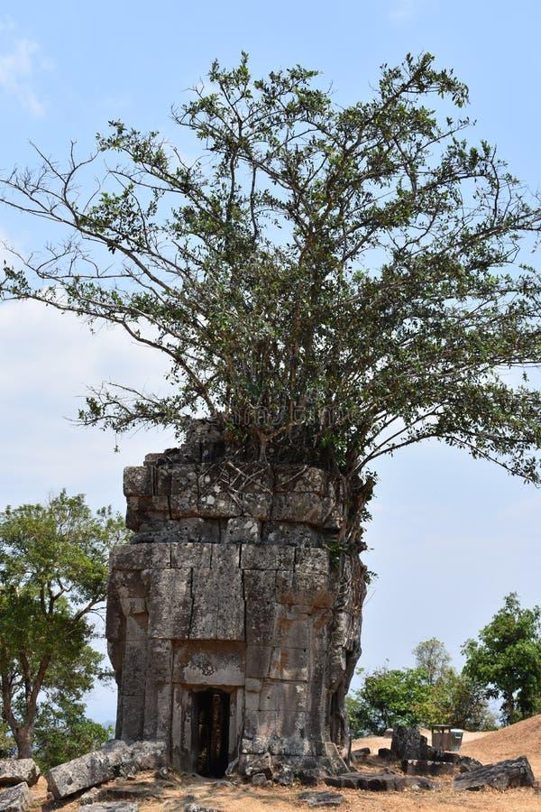 Tempel av Shiva cambodia royaltyfri fotografi