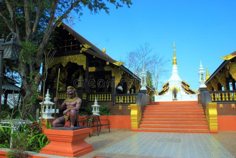 tempel av Thailand byggde med tro arkivbild