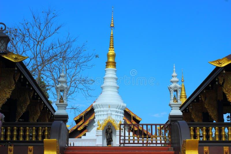 tempel av Thailand byggde med tro arkivfoton