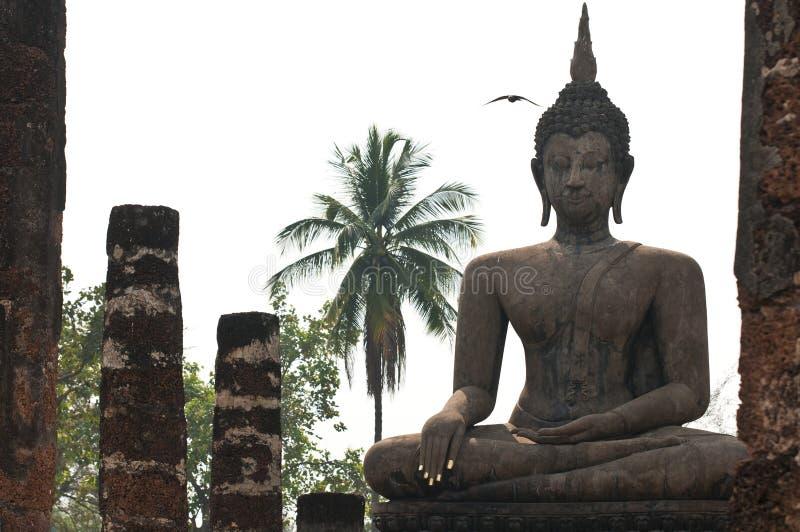 Tempel Ayutthaya stock afbeeldingen