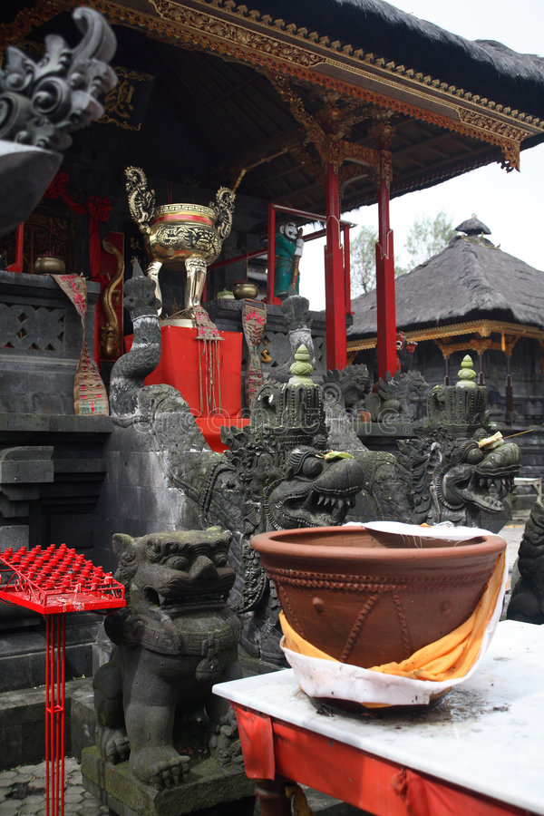 Tempel Bali-Buddha lizenzfreies stockbild