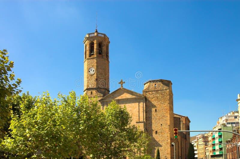 Tempel in Barri gotisch, Barcelona stockfoto