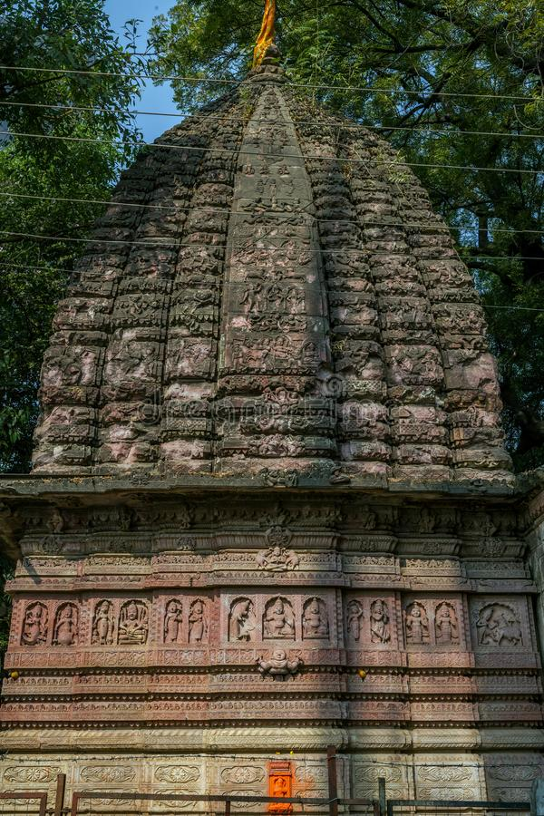 Tempel Bhonda Mahadev ist ein alter shiva Tempel, der hinter Aurobindo-Schrein, Tekdi Rd, Sitabuldi, Nagpur, Maharashtr gelegen i stockfotografie