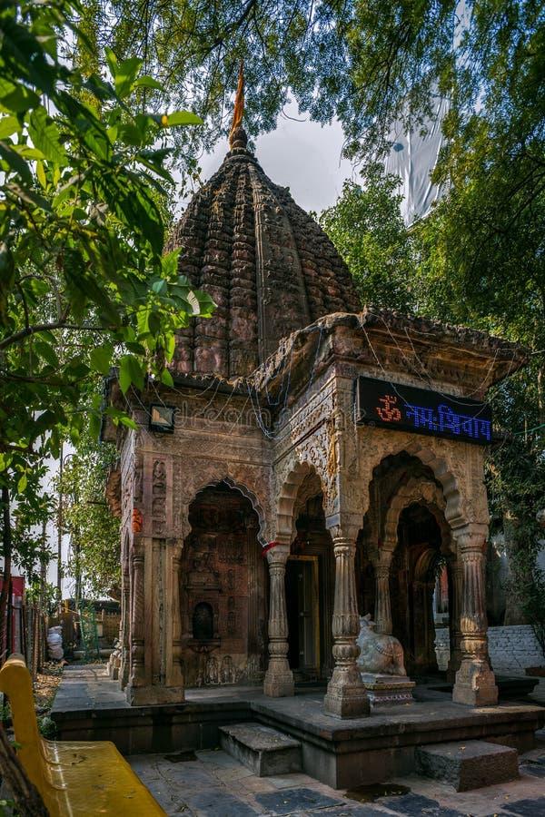 Tempel Bhonda Mahadev ist ein alter shiva Tempel, der hinter Aurobindo-Schrein, Tekdi Rd, Sitabuldi, Nagpur, Maharashtr gelegen i stockbild