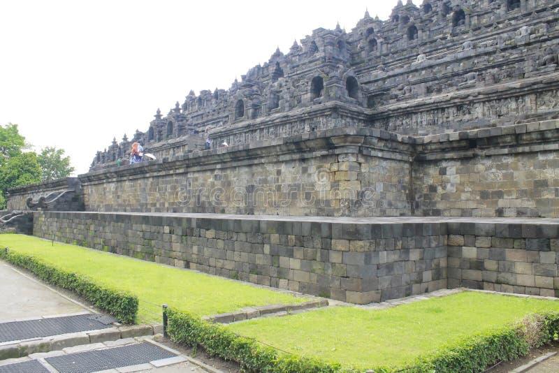 Tempel Borobudur lizenzfreie stockbilder