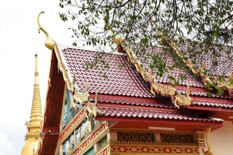 Tempel in Chanthaburi, Thailand stock foto's