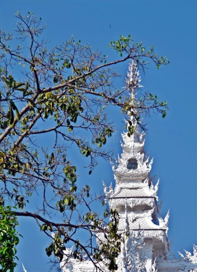 Tempel in Chiang Rai stock fotografie