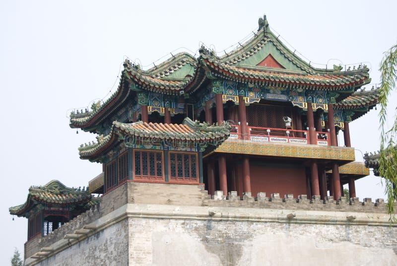Tempel, China lizenzfreies stockbild