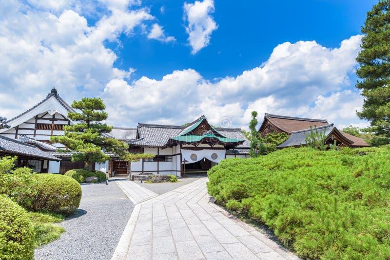 Tempel Daikaku -daikaku-ji in Kyoto Japan stock afbeelding