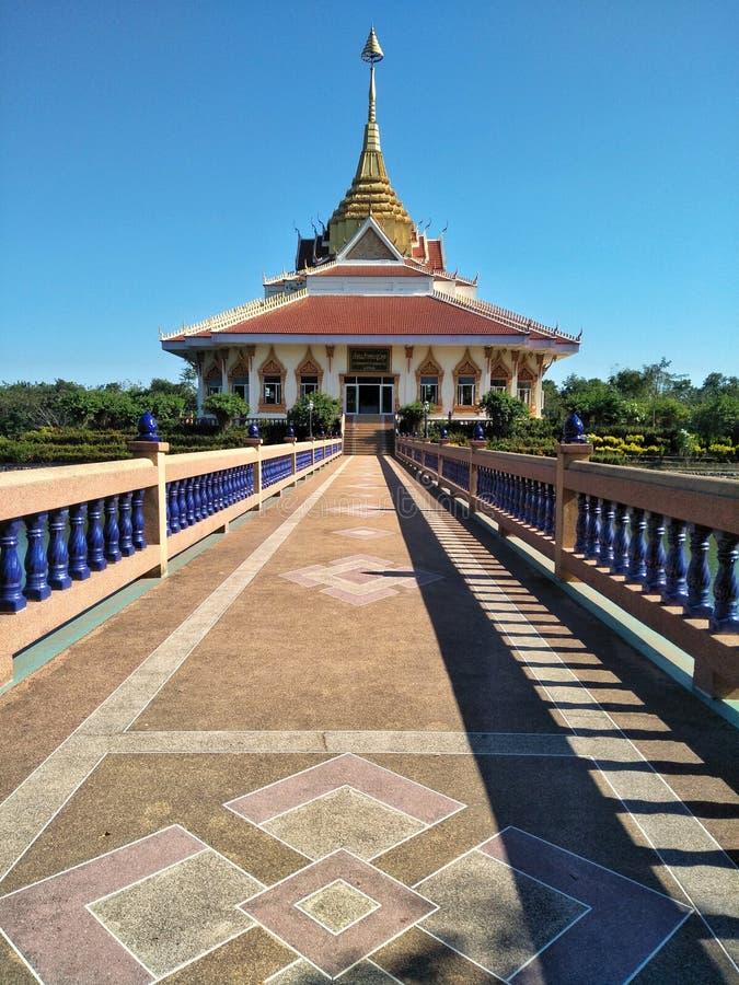 Tempel in de tempel van Pho Chai Sri in de provincie van Udon Thani van Thailand Wat Luang Phor Nak royalty-vrije stock afbeelding