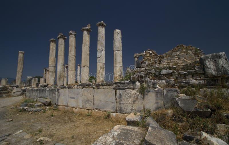 Tempel der Aphrodite stockfoto