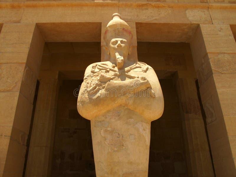 Tempel der Königin Hatshepsup Historische Monumente des Altertums lizenzfreies stockfoto
