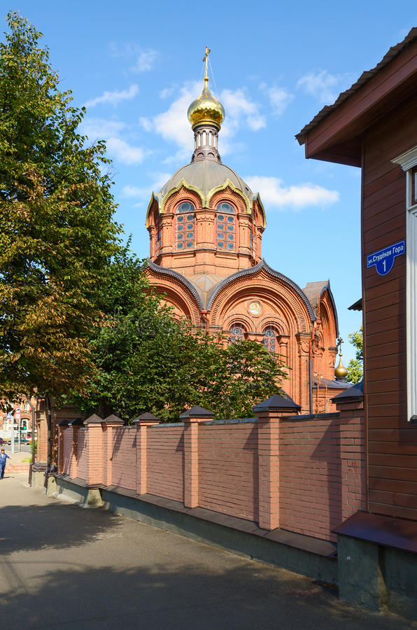 Tempel des Erzengels Michael, Vladimir, Russland stockfoto