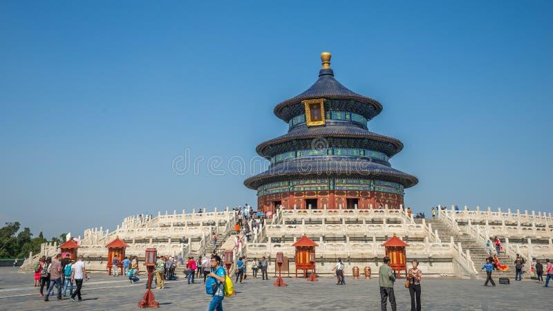 Tempel des Himmels Peking China lizenzfreie stockbilder