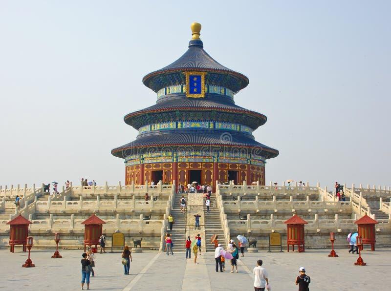 Tempel des Himmels, Porzellan lizenzfreie stockfotografie