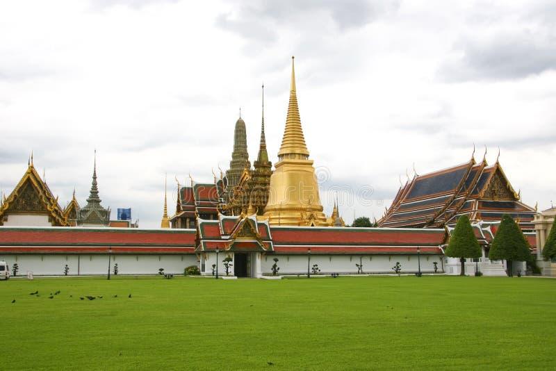 Tempel des Smaragdbuddhas, Bangkok lizenzfreies stockbild