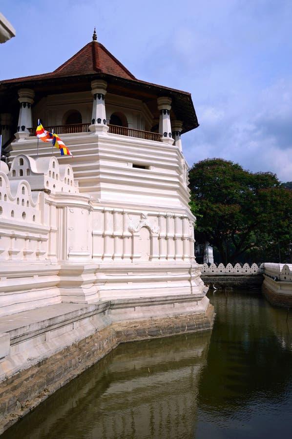 Tempel des Zahnes lizenzfreie stockfotografie