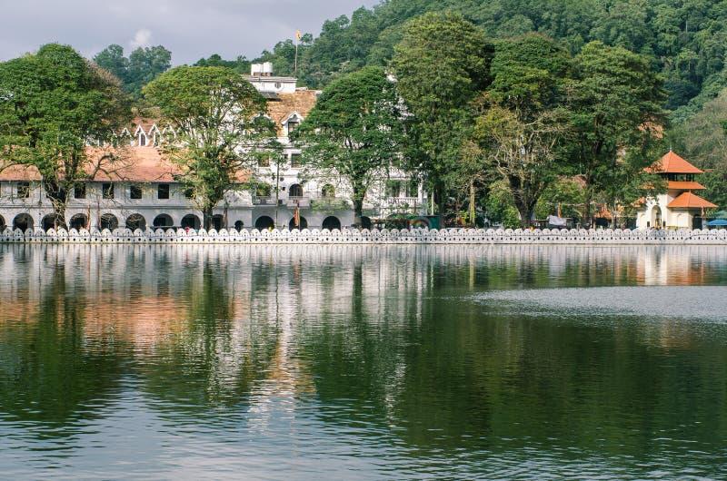 Tempel des Zahnes, Kandy, stockfotos