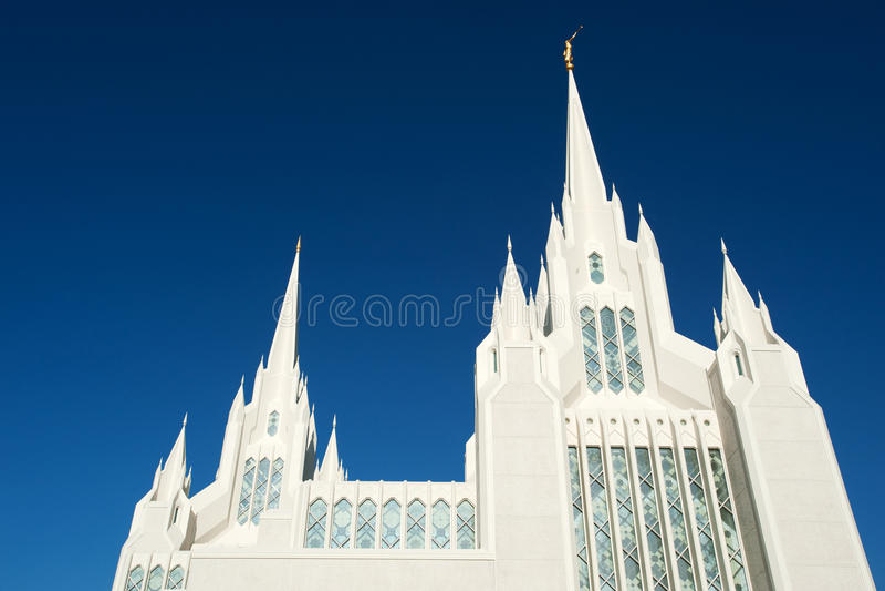 Tempel Diego-Kalifornien lizenzfreies stockbild