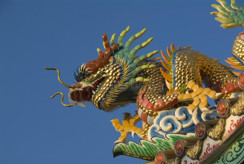 Tempel-Drache lizenzfreie stockfotos