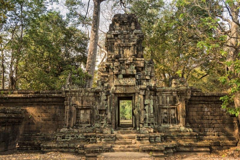 Tempel-Eingang lizenzfreie stockfotos