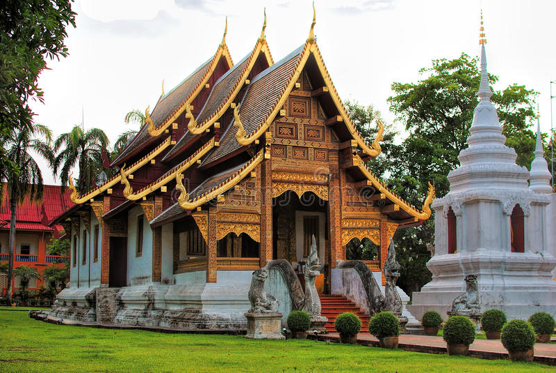 Tempel en de pagode royalty-vrije stock afbeeldingen