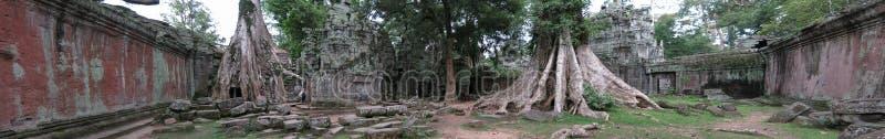 tempel för cambodia prohmta royaltyfria bilder