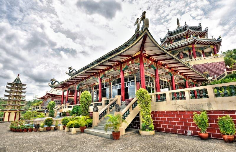 tempel för cebu stadsphilippines taoist royaltyfri bild