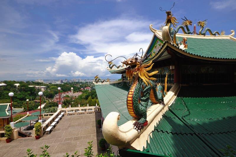 tempel för cebu stadsphilippines taoist arkivbild