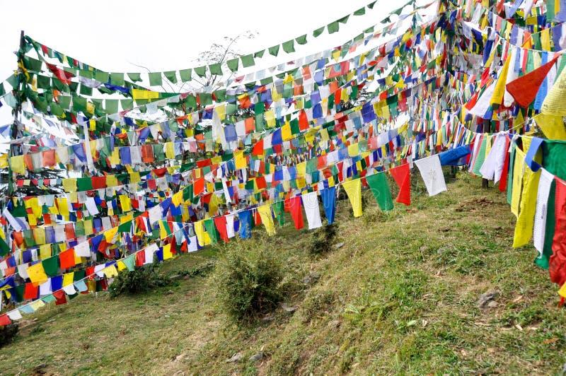 tempel för dharamsala ganjmcleod royaltyfri foto