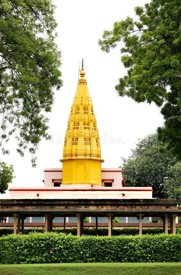 tempel för digamberindia jain sarnath royaltyfria foton