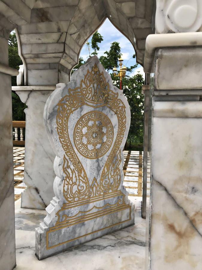 tempel för gränsmarkör royaltyfri fotografi