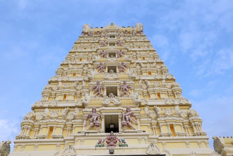 tempel för india madurai minakshisundareshvara arkivfoton