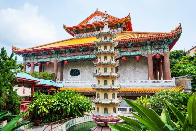 Tempel för Kek loksi, Geroge stad royaltyfri fotografi