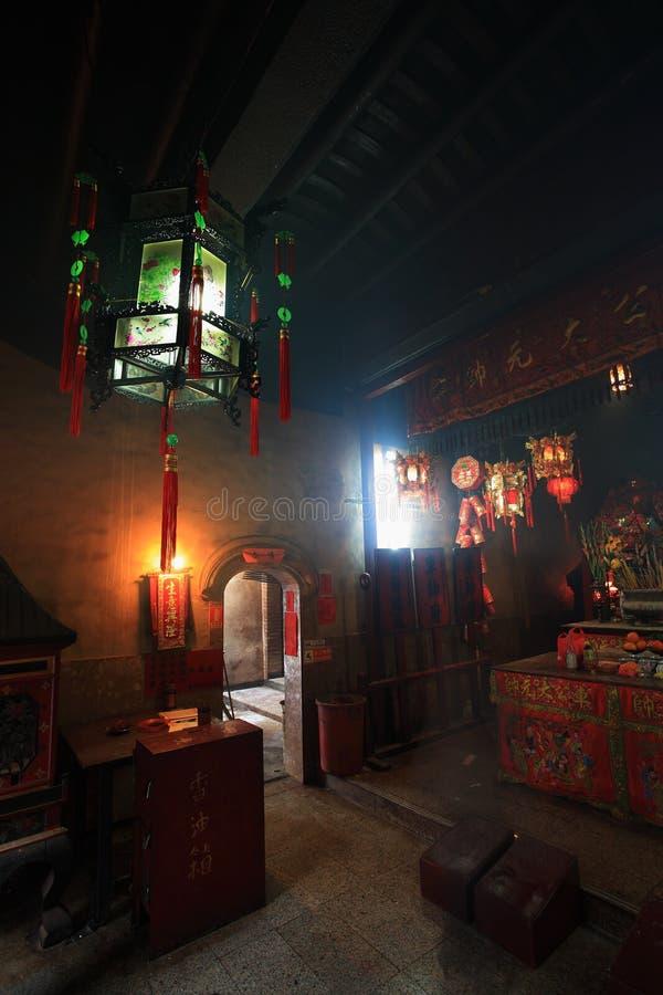 tempel för kung för chechung ho arkivbilder